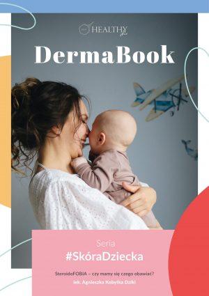 Strona tytułowa DermaBook Steroidofobia